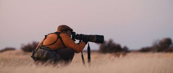 """Fine-art photographer Eliseo Miciu chase the elusive Patagonian wild horses - Still frame from the documentary """"Land of The Wind"""""""